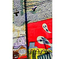 Those Screaming Ban-shoes Photographic Print