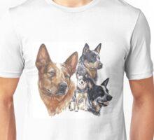 Australian Cattle Dog Unisex T-Shirt