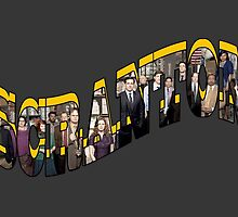 Scranton - Also available in vertical design for phone and tablet cases by pickledbeets