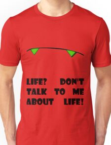 Marvin the Android's vision of life Unisex T-Shirt