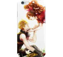 Don't Fight Here - You'll Ruin the Flowers iPhone Case/Skin