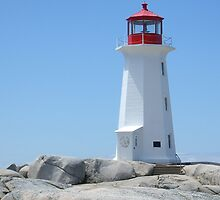 Peggy's Point Lighthouse, Peggy's Cove by David Davies