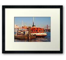 ferry boat *eborense* Framed Print