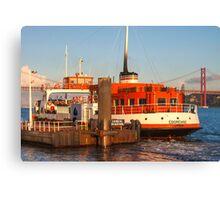 ferry boat *eborense* Canvas Print