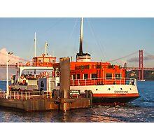 ferry boat *eborense* Photographic Print