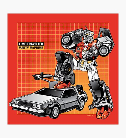 Marty McPrime (New Version) Photographic Print
