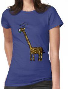 Om nom nom Womens Fitted T-Shirt