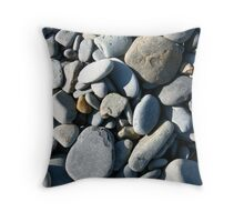 Pebbles in Sunlight Throw Pillow