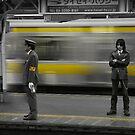 Subway in Tokyo by Laurent Hunziker