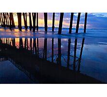 Oceanside Pier Sunset Photographic Print