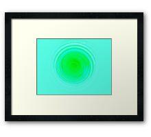 Screamin' Green Framed Print
