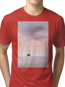 North Sea Lighthouse Tri-blend T-Shirt