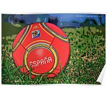 Capitano Ball - Spain Poster