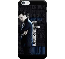 Jim Moriarty iPhone Case/Skin