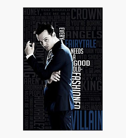 Jim Moriarty Photographic Print