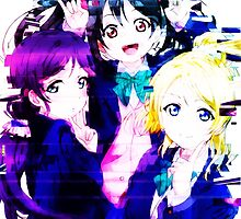 Love Live! Third Year Students by kyousayamado