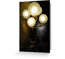 Capitol Lamps Greeting Card