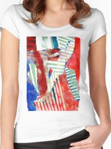 Psychedelic Regiment Women's Fitted Scoop T-Shirt