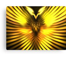 Golden Phoenix Canvas Print
