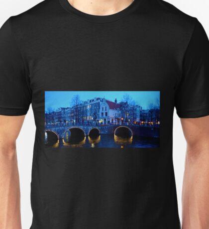 Dusk in Amsterdam Unisex T-Shirt