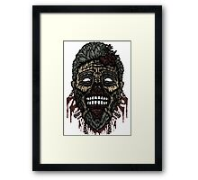 Just Another Zombie Framed Print