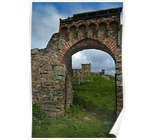 Roundhouse through the arch. Poster