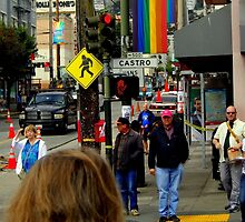 Red Light Castro District by Michael May