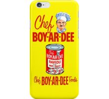 BOYARDEE 2 iPhone Case/Skin