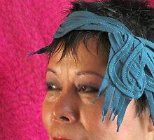 (568) Shoelace hat (card) by Marjolein Katsma
