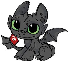 Toothless by SophilliaArts