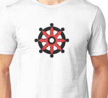 Chaos Dharma Wheel Unisex T-Shirt