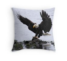 The Home Stretch Throw Pillow