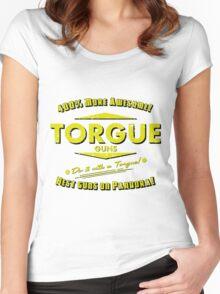 Torgue Guns Women's Fitted Scoop T-Shirt