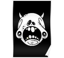 Petrified Skull Poster