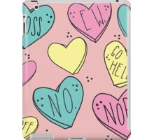 Bitter Candy Hearts iPad Case/Skin
