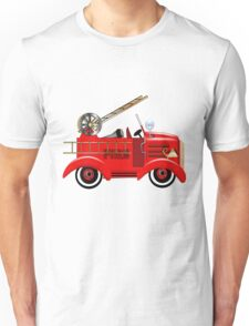 Freddie the Fire Truck Unisex T-Shirt