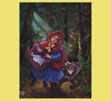 Little Red Riding Hood Kids Tee