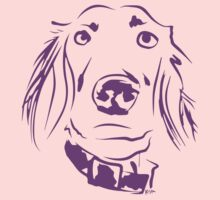 WWWD? Willow, Long Haired Weimaraner : Light Kids Tee