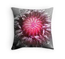 Inner Poppy Throw Pillow