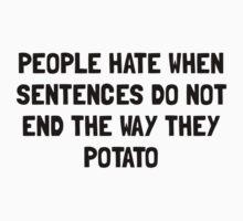 Sentences Potato T-Shirt