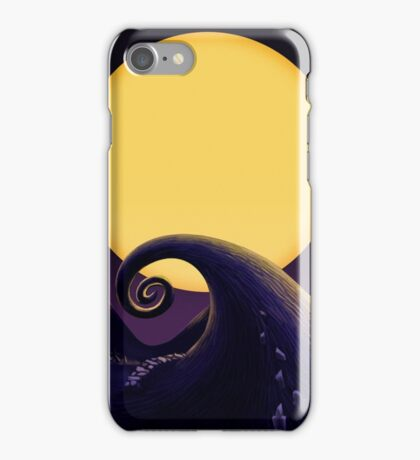 A trip to the yellow moon! iPhone Case/Skin