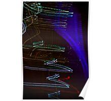 Laser Paint Poster