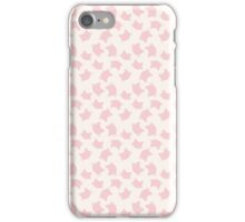 pastel pink cats iPhone Case/Skin