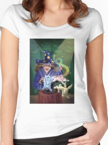 Magic Act Women's Fitted Scoop T-Shirt