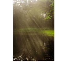 Morning Peace Sunrise Landscape Photographic Print