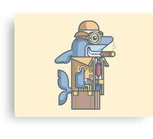 Business Shark Canvas Print