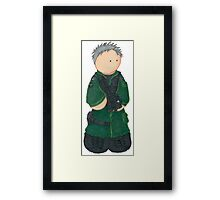 Plushie Colonel O'Neill Framed Print