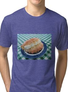 Eat me! Irresistible Apple Turnover Tri-blend T-Shirt