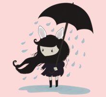 why does it always rain on me? Kids Tee