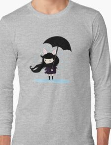 why does it always rain on me? Long Sleeve T-Shirt
